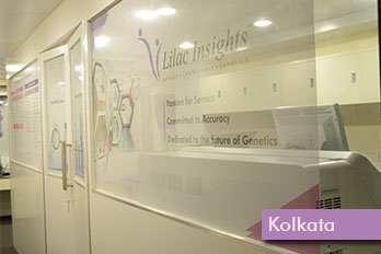 Reception Area – Lilac Insights Kolkata